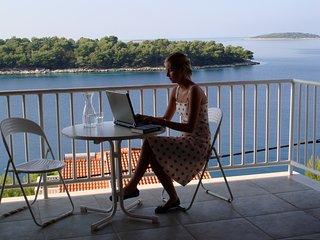 Paradies direkt am Meer-gr. Studio für 2 Personen, Blato