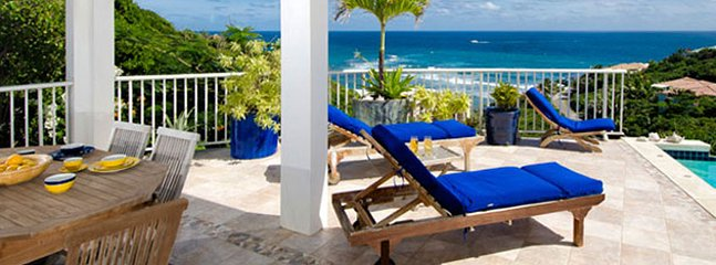 Villa Dawn Beach 4 Bedroom SPECIAL OFFER, Philipsburg