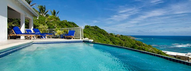 Villa Dawn Beach 3 Bedroom SPECIAL OFFER (The Partially Covered Private Pool
