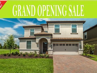 BRAND NEW Home 9BD/ChampionsGate, Pool+SPA,Disney, Davenport