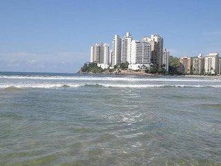 Apartamento Guaruja 230m2 na Praia com 4 Suites