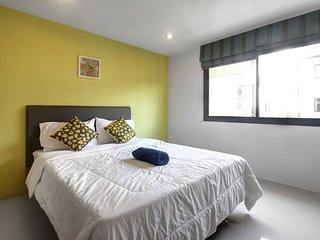 Cozy stay near Kathu Golf w/wifi, gym, pool 209, Patong