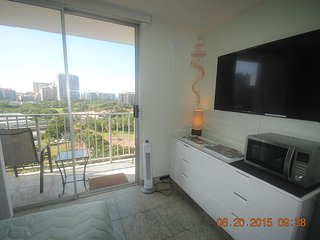 Spectacular Ocean Views/Kitchenette/Free WiFi, Honolulu
