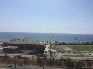 Habitación con vistas al mar, en el mejor lugar de la barra, Barcelona