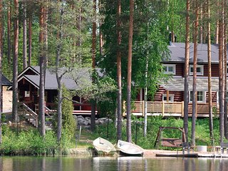 Villa Rock and Lake