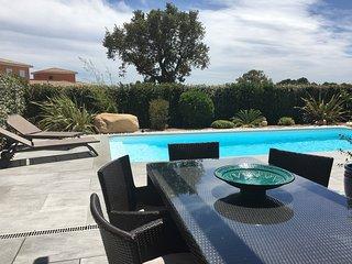 PORTO VECCHIO LECCI villa 4 pièces piscine, Lecci