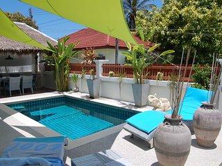 VILLA 2 chambres piscine privé,5MM DE LAMAI, Lamai Beach