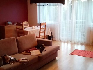 Private room for two in bright home, Tallinn