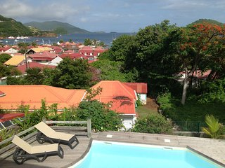 Appartement avec jolie vue sur mer et piscine, Terre-de-Haut