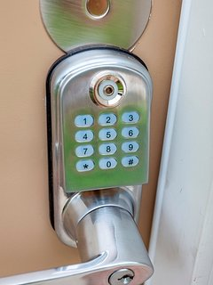 Keyless access -  you will get a code once you book