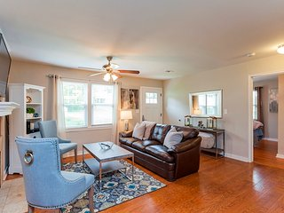 open and airy floor plan that is great for friends and family to join together