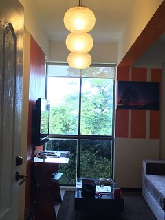 Bright window. It does feel like suffocated.
