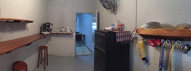 Coffee and bar area