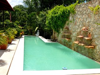 Tropical Home with Lap Pool and Outdoor Shower, Merida