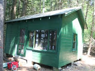 Maine Wilderness Lake Island Cabin