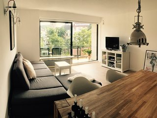 Spacious luxury flat with 2 balconies for 2-6 ppl, Düsseldorf