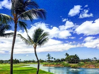 Golf in Hawaii near Disney Resort Lagoons, Beaches