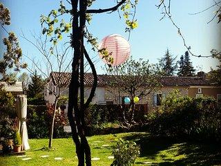 La Parenthèse - côté jardin, Issigeac