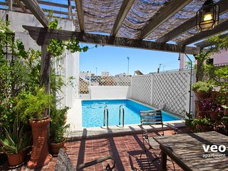 Miguel Terrace | Large terrace and private pool, Seville