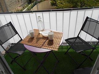 Montpellier studio avec balcon et parking privé