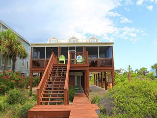 4 Bedroom/2 Bath Beach Front Home, Cape San Blas