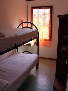 Terza camera da letto con letto a castello (su richiesta)