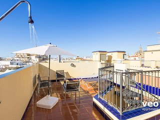 Pajaritos 1 Terrace | 1 bedroom, private terrace, Sevilla