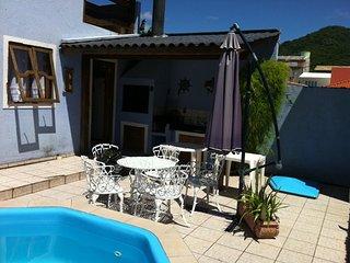 Casa 4 quartos com piscina no centrinho da lagoa, Lagoa da Conceicao