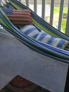 Time to get lazy...on the hammock!