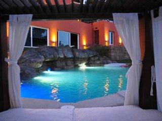 Villa independiente de vacaciones en la costa