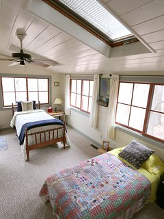 Full bed, in loft over Master Bedroom, West Wing