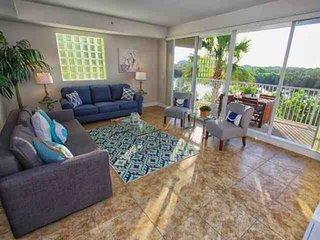 Beautiful Living Area with Balcony Access & Sofa Sleeper