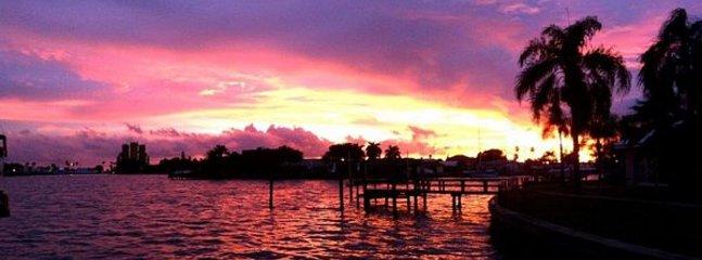 Beautiful dock view