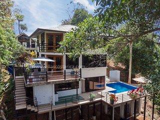Casas Harmony - Full A/C - Jungle Paradise, Parque Nacional Manuel Antonio