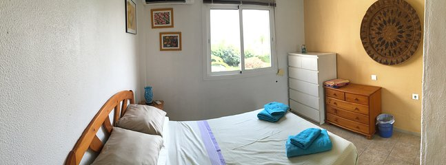 Main bedroom (has air conditioning and fitted wardrobe)