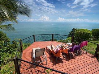 Private Dominical Hideaway w/ 180 Ocean Sunsets 3b, Ballena