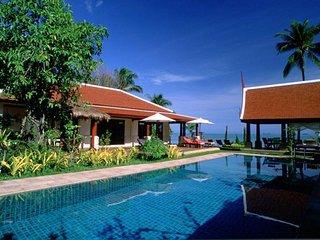 Maenam 3004 - Luxury Beachfront With Chef Service, Bophut