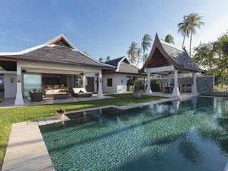 Maenam 7042 - Luxury Beachfront With Chef Service, Mae Nam