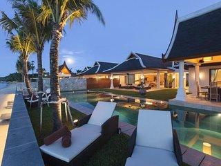 Maenam 6042 - Luxury Beachfront With Chef Service, Mae Nam