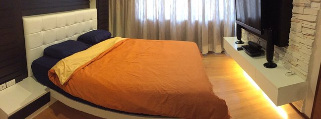 Spacious Bed Room, escape from the world and sleepy