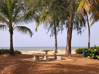 Paradise Beach Apartment.  We are ready to host you!  Power and water available.