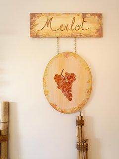 La Merlot coté nature et zen, chambre de plain pied