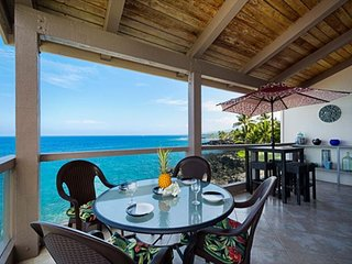 Direct oceanfront living at its finest!