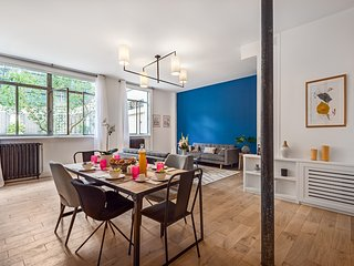 Saint Germain / Bon Marché Chic Three Bedroom