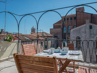 Ca Moro: terrace amazing, air conditioning, wi-fi, Venice