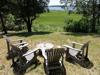Quintessential 3BR Waterfront Cottage w/ Screened Porch, Steps to Waquoit Bay