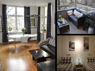Large bedroom with two single beds or one double., Oslo