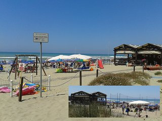app.to arredato a 20 mt  mare+spiaggia priv, Torvaianica