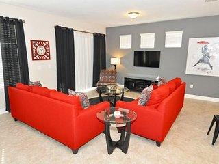 6 Bedroom 4.5 Bath Solterra Resort pool Home. 4183AC, Davenport