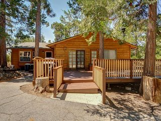 Homey, dog-friendly cabin w/ large deck surrounded by forests, Idyllwild